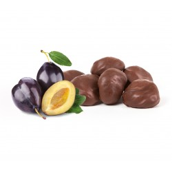 Dried plums in chocolate (no pit) - Box