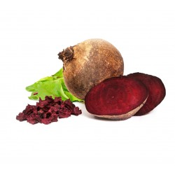Dried red beet